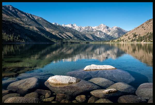 Lower Twin Lakes and Sawtooth Ridge 2