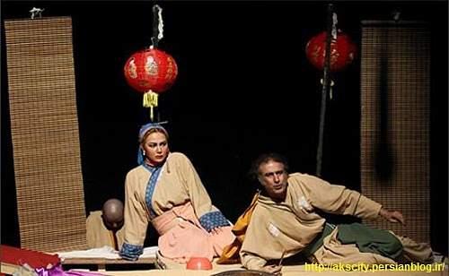 Photo of Anna Nemati in China 4