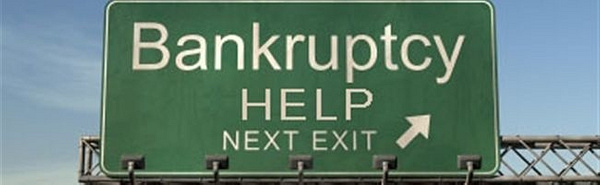 Drowning In Debt by DeclaringBankruptcy