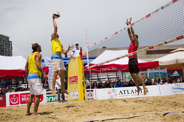 TVF Pro Beach Volleyball Tour 2014, Ankara - 4. Gün (01-06-2014) by Mike van der Lee