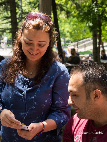 Yasemin Önder_Kitap Ağacı, Kurtuluş Parkı, Pazar 22-06-14_09