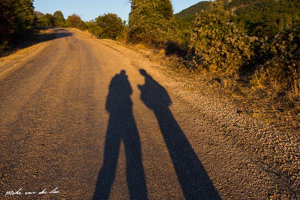 Silhouettes by sundown by Mike van der Lee
