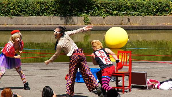 Street entertainment - Tsukuba