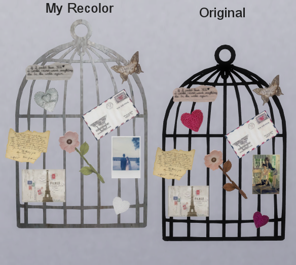 Wall Birdcage