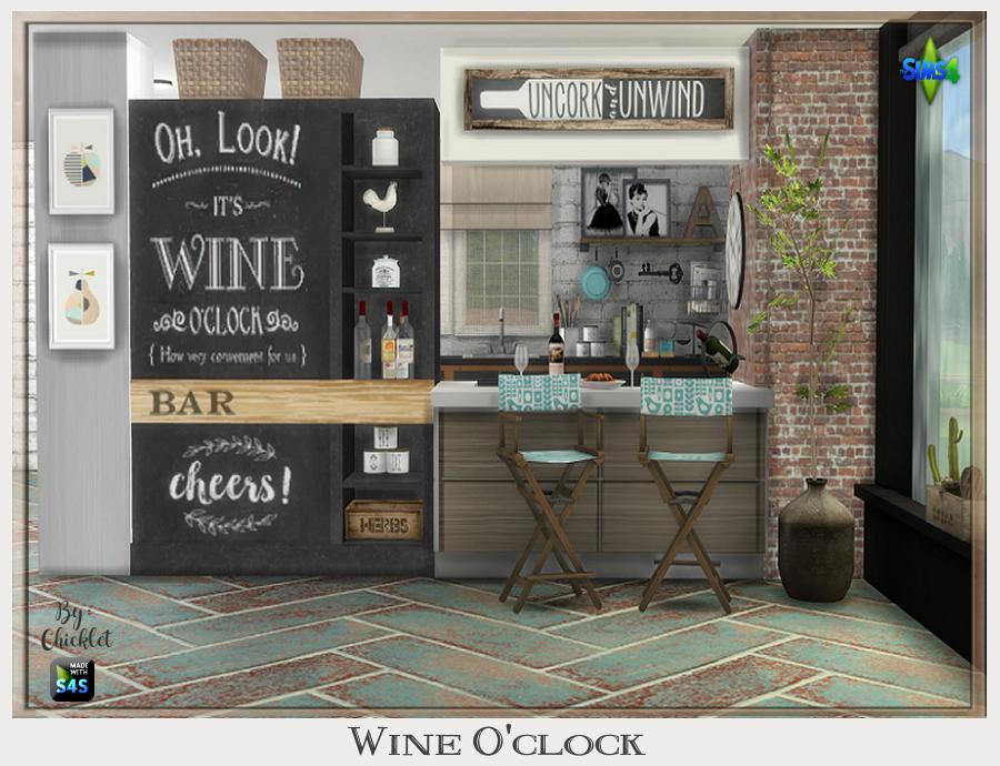TS4: Wine O'Clock Dining Set Wine_O_clock_Ad_Pic