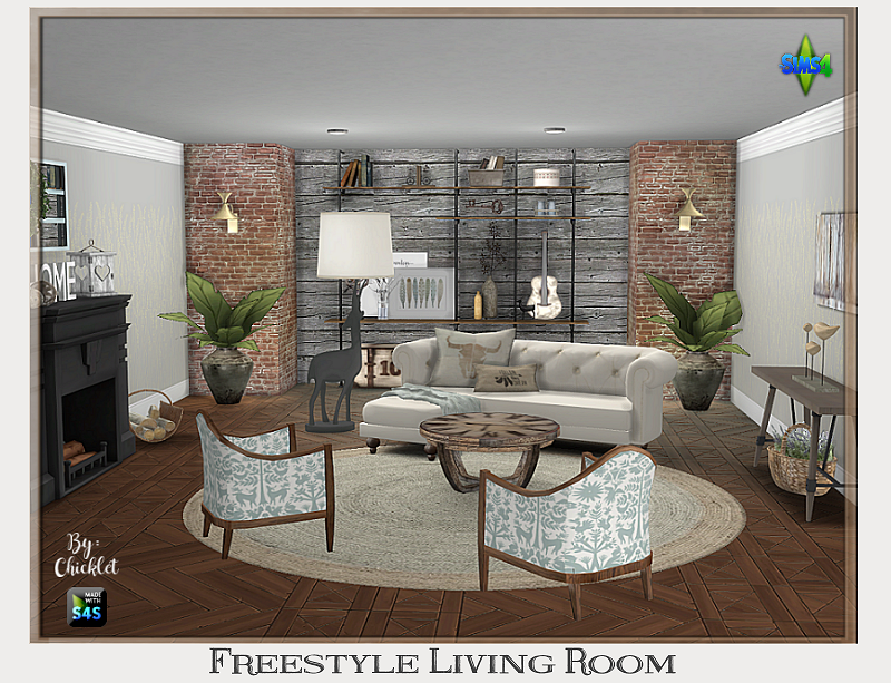 TS4: Freestyle Living Room Freestyle_Living_Room_v3_Ad_Pic
