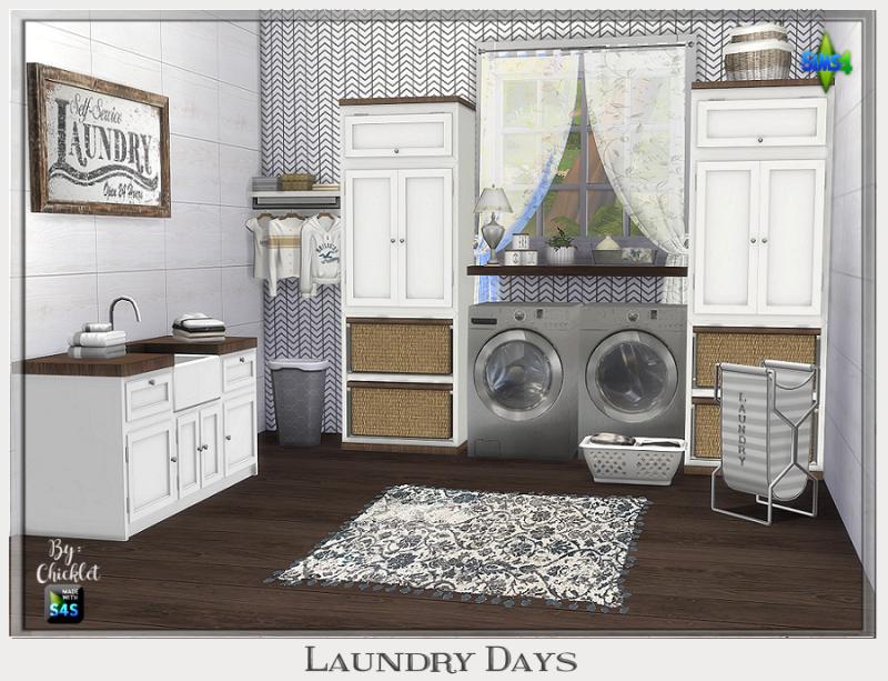 TS4: Laundry Days Laundry Room Laundry_Days_Logo_v2
