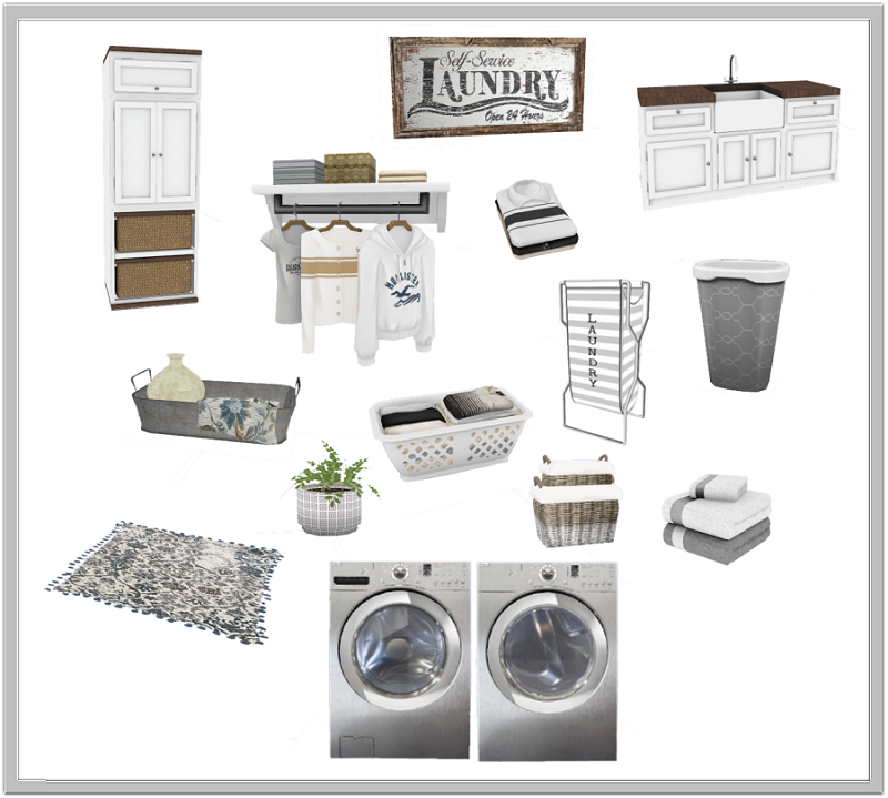 TS4: Laundry Days Laundry Room Laundry_Days_Includes