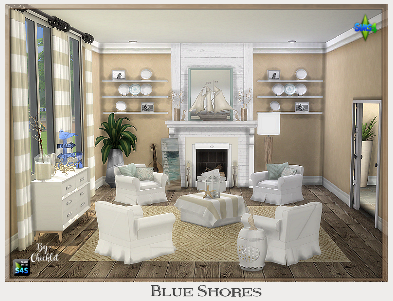 TS4: Blue Shores Sitting Room Blue_Shores_Ad_Pic