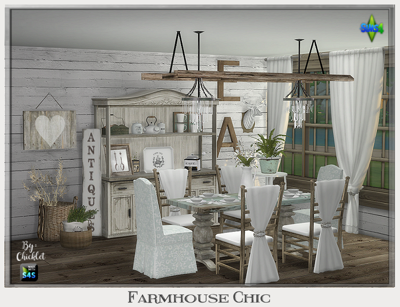 TS4: Farmhouse Chic Dining Room Farmhouse_Chic_Ad_Pic