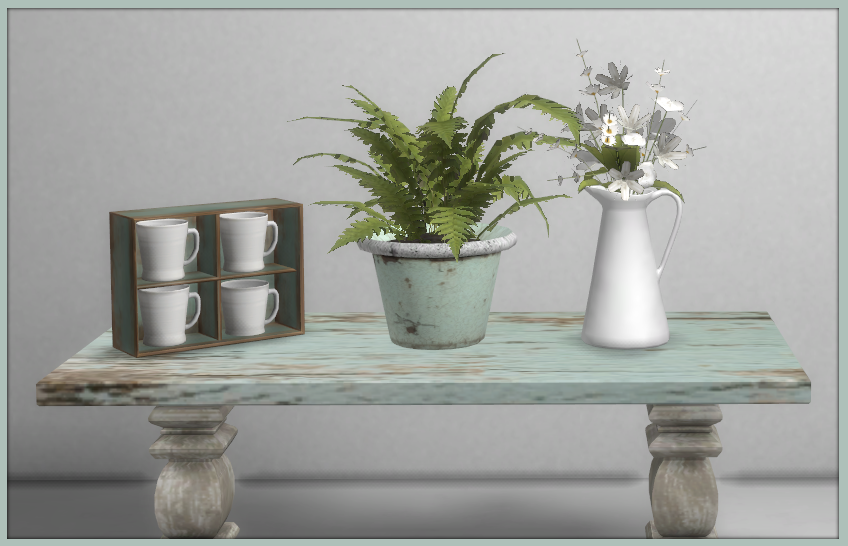 TS4: Farmhouse Chic Dining Room Farmhouse_Chic_Includes_1