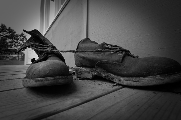 Oak Ridge WWII Dirty Boots by aaronhollows