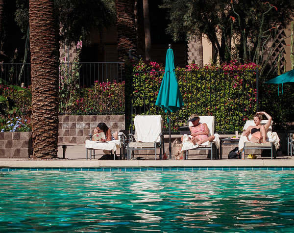 By the Pool, Scottsdale by JerryRobinson