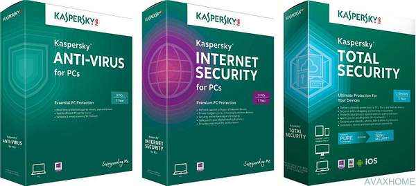 kaperski antivirus