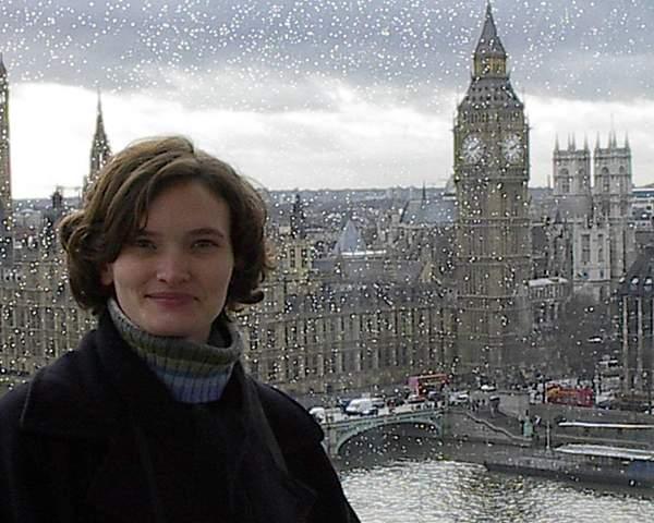 Tara in the London Eye