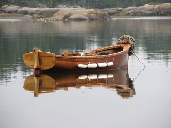 The yawl boat