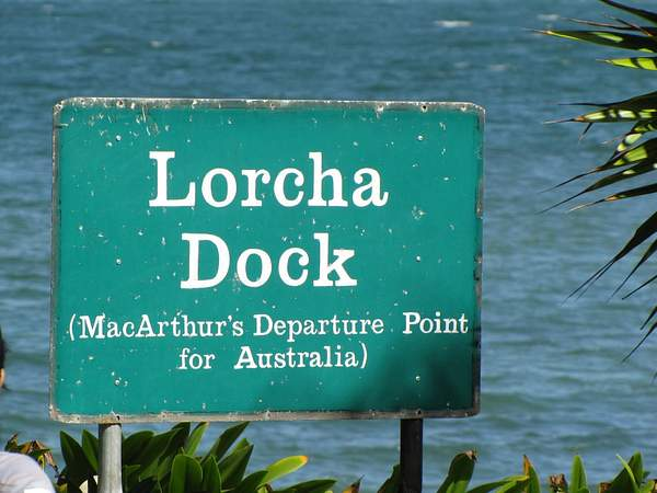 The Dock from which MacArthur departed