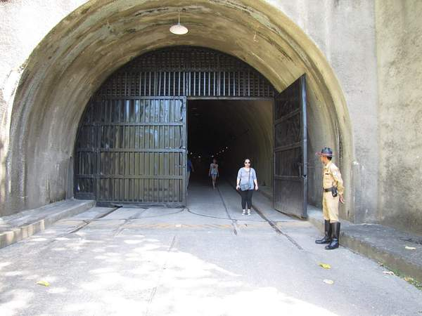 Tunnel on Corregidor