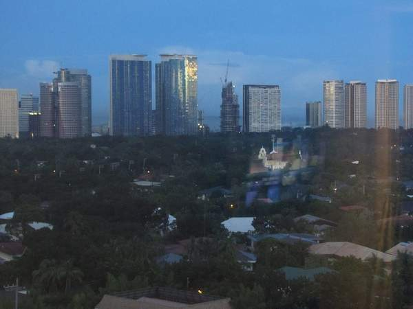 View of Manila