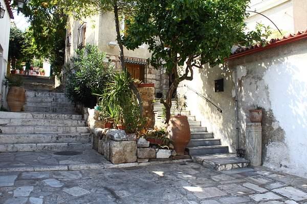 A quiet corner in Athens