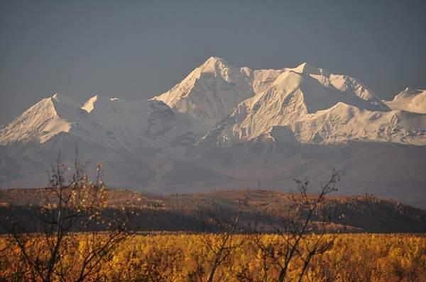 Alaska Range from Delta
