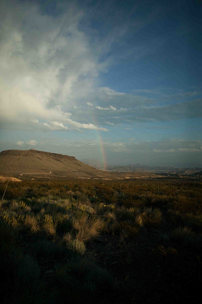 Terlingua Sky-2 by Clyde Replogle