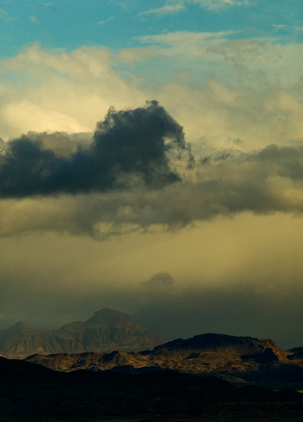 Terlingua Sky-20 by Clyde Replogle