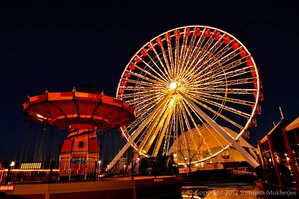 The Ferris Wheel at Navy Pier, Chicago
