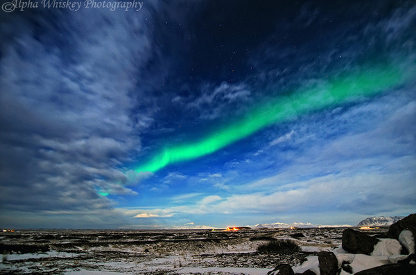 Aurora Borealis by Alpha Whiskey Photography
