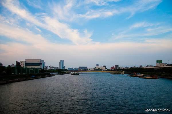 Tokyo water channel
