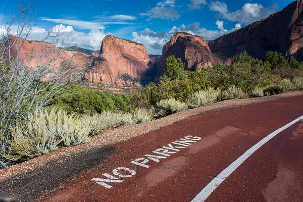 Kolob Canyon Overlook, Zion National Park