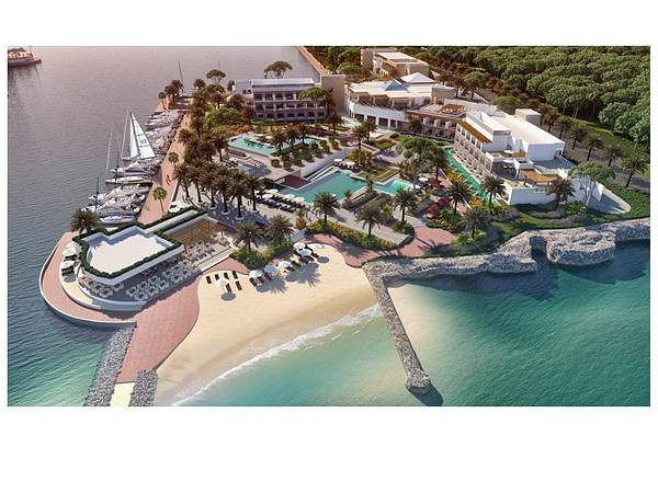 Tiara Resort Layout Rendering_2