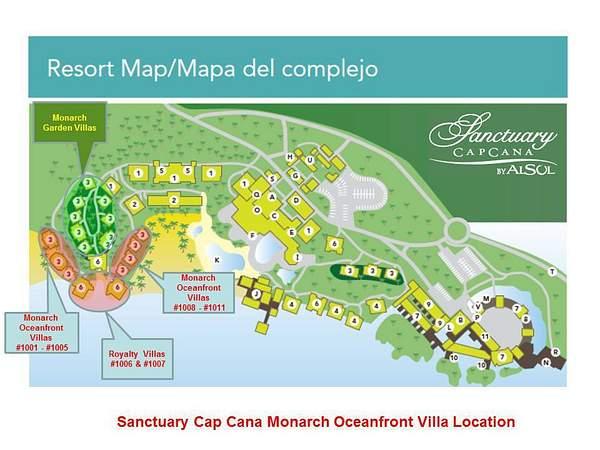 Monarch Villas_Location