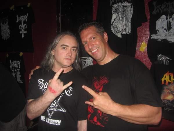 Me and Jon Mcentee from Incantion