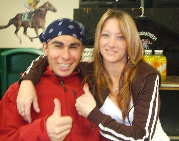 Jorge and Shannon Finley
