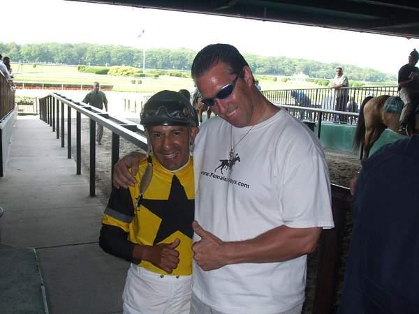 Me and Victor Molina