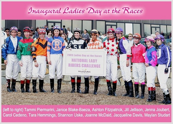 Parx 09 Female Jock Challenge by Chris Forbes