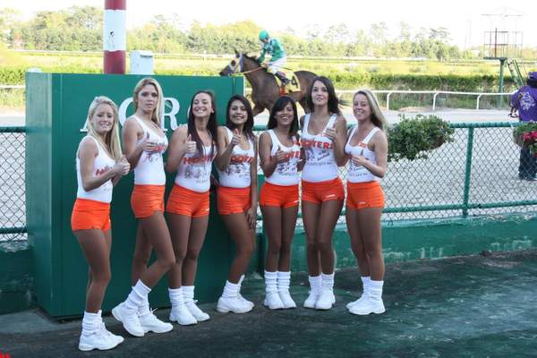 You know I have pull with the Hooter Girls