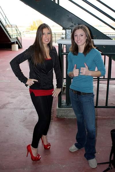 Lexi and Kristina