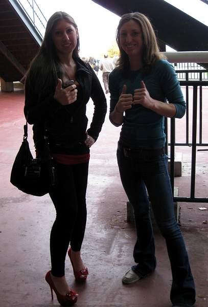 Lexi Merson and Kristina