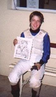 Various Female Jockeys # 2 by Chris Forbes