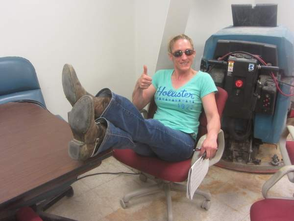 Trainer Diane Day