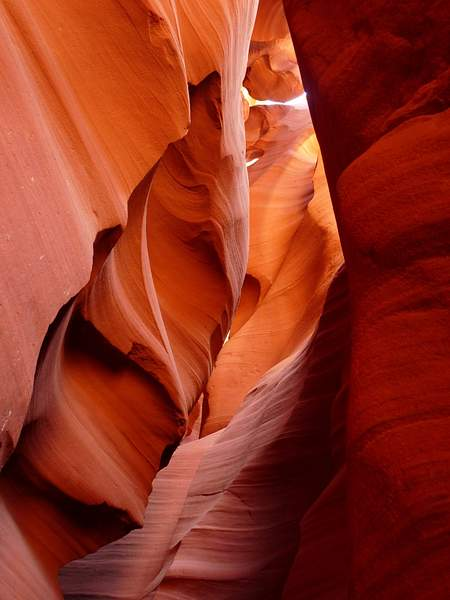 Antelope Canyon - the power of water