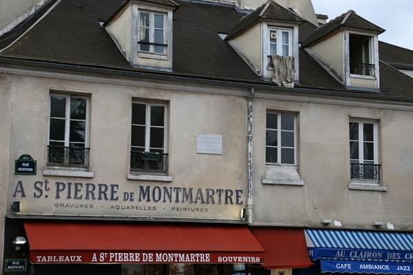 Montmartre shops