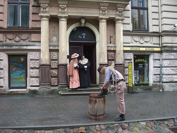 Riga. Art Nouveau street by Clarissa