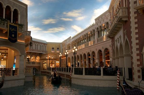 Venetian Hotel, Las Vegas by Clarissa