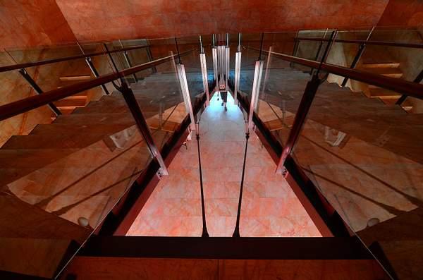 Getty_Villa_Stairs_Down