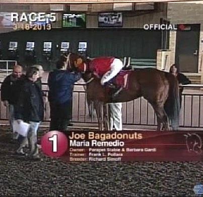 4 Wins In a Row on 03/18/13 @ Parx by Maria Remedio