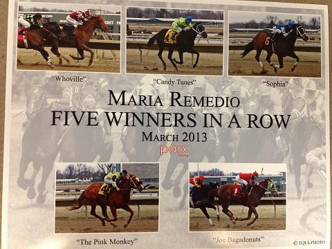 5 Wins In A Row Photo by Maria Remedio