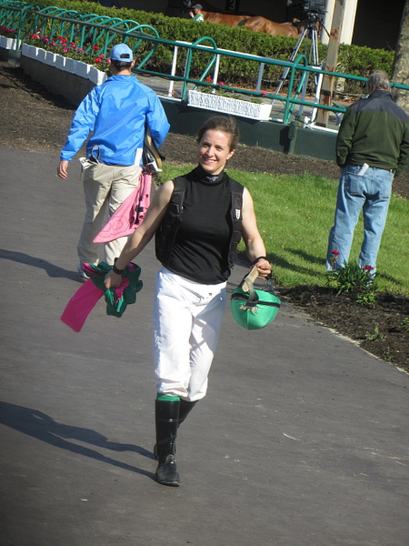 Atlantic City Race Course April 25, 2013 by Maria Remedio